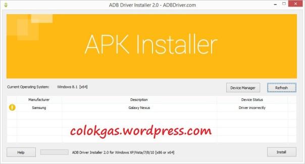 Download Universal ADB Driver | COLOK GAS